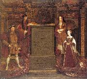Leemput, Remigius van Copy after Hans Holbein the Elder's lost mural at Whitehall oil